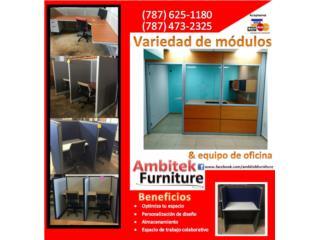 MOBILIARIO DE OFICINA REACONDICIONADO, AMBITEK FURNITURE Puerto Rico