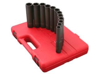 1/2″ DR. 9 PC. METRIC EXTRA LONG DEEP IMPACT , Vulcan Tools Caibbean Inc. Puerto Rico