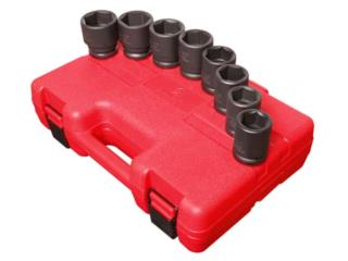 3/4″ DR. 8 PC. SAE IMPACT SOCKET SET, Vulcan Tools Caibbean Inc. Puerto Rico