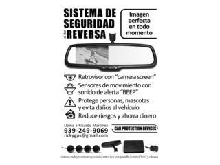Cámara y Sensores para carro, ECONO/CRISIS SOLUTIONS Puerto Rico