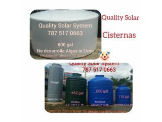 CISTERNAS y algo mas, Quality Solar System 787-517-0663 Puerto Rico