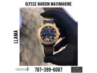 Ulysse Nardin Maximarine Lmtd Edition 350 pcs, CHRONO - SHOP Puerto Rico