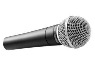 Microfono Shure SM58, Music Access Store, Ave. De Diego, Puerto Nuevo Puerto Rico