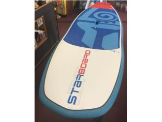 Starboard hypernut 8.6, The SUP shack  Puerto Rico