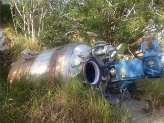 Tanque Stainless TIPO MESCLADORA 1700 galones, Reuse Outlet Store Puerto Rico