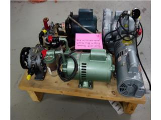 MOTORES, BOMBAS VACIO, BLOWERS, TANQUES SS, Reuse Outlet Store Puerto Rico