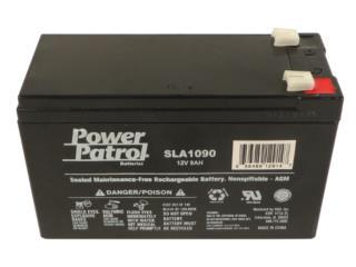 Bateria 12 V- 7 Ah  PAR, Equipos Pro-Impedidos Inc. Puerto Rico