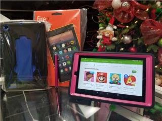 AMAZON FIRE TAB 7+1500 JUEGOS+COVER, LA CASA DEL ANDROID Puerto Rico