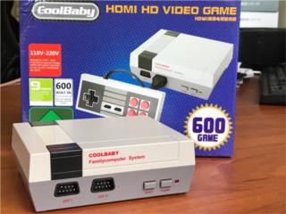 COOLBABY MINI NES HDMI+600 GAMES, LA CASA DEL ANDROID Puerto Rico