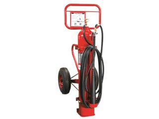 AMEREX WHEELED CARBON DIOXIDE EXTINGUISHER, CEL Fire Extinguishers & More Puerto Rico