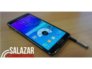 Cell Phone Samsung Galaxy Note 4 Negro Usado , SALAZAR COMMUNICATIONS Puerto Rico