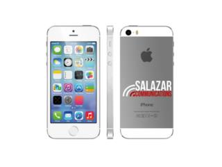 iPhone 5S 32 GB Negro En Exelente Cond, SALAZAR COMMUNICATIONS Puerto Rico