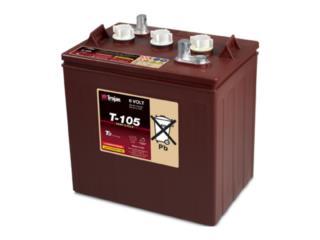 Carolina Puerto Rico Sillas, Bateria Trojan 6V 225 amp $145