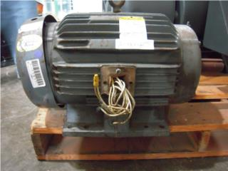 Baldor 20 HP Motor 256T 3ph 3450 Rpm 230/460V, Reuse Outlet Store Puerto Rico