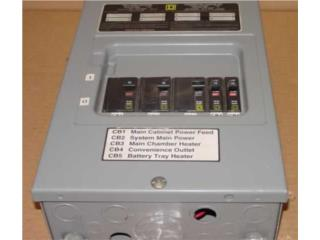 SQUARE D Panel electrico C 5 Breaker, Reuse Outlet Store Puerto Rico