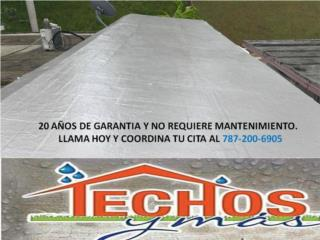 Caguas Puerto Rico Enseres Neveras, SELLADOR DE TECHO