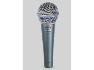 Microfono Shure Beta 58A, Music Access Store, Ave. De Diego, Puerto Nuevo Puerto Rico