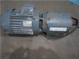 Motor AC 115V 1.5 HP con reductor 140 RPM, Reuse Outlet Store Puerto Rico