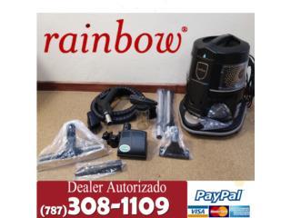 Rainbow Black Con 5 años garantías , Aspiradoras Rainbow P.R Puerto Rico