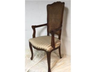 Silla de Pajilla; Alta Calidad, Mr. Bond Vintage Puerto Rico