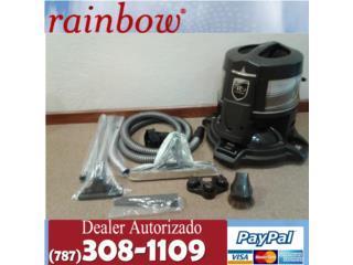 Rainbow e2 Azul certificadas con Garantías, Aspiradoras Rainbow P.R Puerto Rico