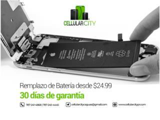 Batería de iPhone Solo $25 area de Caguas, Cellular City Caguas Puerto Rico