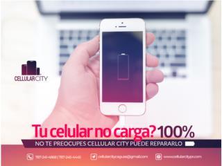 Puerto Carga de iPhone,Samsung,LG,HTC y Mas, Cellular City Caguas Puerto Rico