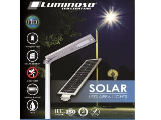 Luminoso Solar LED Street Lights 20W, CARIBBEAN ENERGY DISTRIBUTOR Puerto Rico