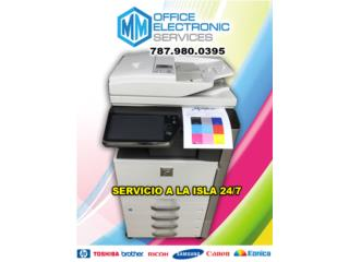 SHARP HIGH VOLUME COLOR FULLY LOADED, MM OFFICE ELECTRONIC SERVICES Puerto Rico