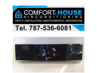 Airmax 18k Modelo Espejo Fabricado por Gree, Comfort House Air Conditioning Puerto Rico