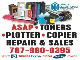 VENTA DE TINTAS Y TONERS, MM OFFICE ELECTRONIC SERVICES Puerto Rico