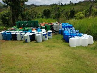 Drones de 60 y 55 galones plasticos o metal, ANROD NATIONAL EXPORT INC. Puerto Rico