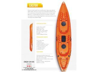 Orza Kayak 2 personas Castor, Orza Kayak Puerto Rico