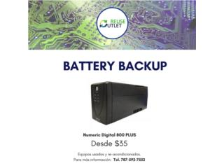 UPS BATTERIES , Reuse Outlet Store Puerto Rico