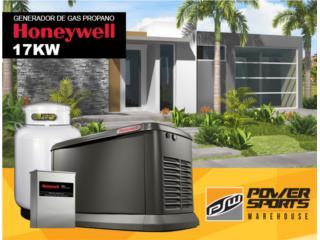 ¡GENERADOR LP HONEYWELL 17KW CON INST!, Generadores Honeywell Puerto Rico