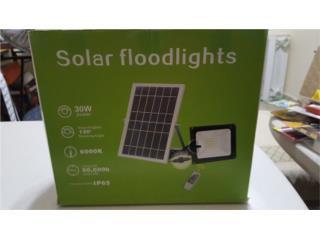 Solar Floodlights 30Watts, 12 Hours Duration, WSB Supplies Puerto Rico