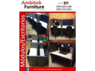 MODULOS DE OFICINA REACONDICIONADOS, AMBITEK FURNITURE Puerto Rico