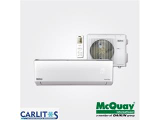 MCQUAY up to 23 seer 10 años Garantía , Carlito's Air Conditioning Puerto Rico
