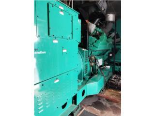 Generadores Onan-Cummins 2,000KW Año 02' 480V, All Equipment Puerto Rico
