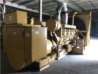 Generador CAT de 2,000KW Año 2000 4,160V, All Equipment Puerto Rico