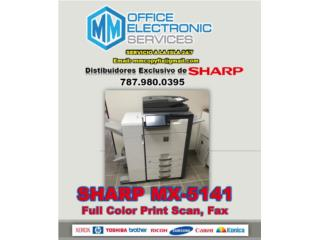 COPIERS SALES- SHARP MX-5141, MM OFFICE ELECTRONIC SERVICES Puerto Rico