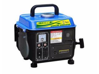 Generador  1250W SIGMA . SILENCIOSOS 62db, www.generadoressigma.com Puerto Rico