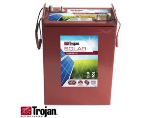 Bateria AGM Trojan Solar  375 AH , FIRST TECH SOLAR Puerto Rico