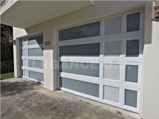 PUERTAS DE GARAJESEGURIDAD EN ALUMINIOHEAVY , Elegance Garage Door's y Mas. Puerto Rico