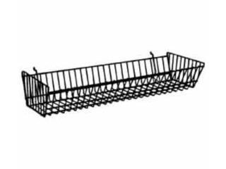 Basket for Slatwall, Grid & Pegboard , WSB Supplies U Puerto Rico