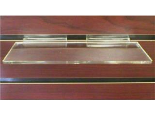 Shoe shelf injection molded for slatwall, WSB Supplies U Puerto Rico