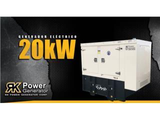 Kubota 20kW , RK Power Generator Corp. Puerto Rico