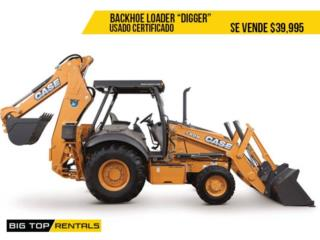 BACKHOE LOADER (Digger), Big Top Rentals- Construction Puerto Rico