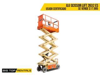 SCISSOR LIFT 2632ES, Big Top Rentals- Construction Puerto Rico