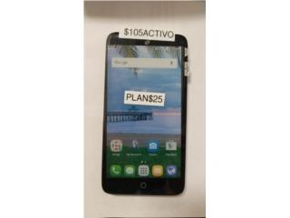 Alcatel Grande  para Claro, Prepaid Mobile Puerto Rico